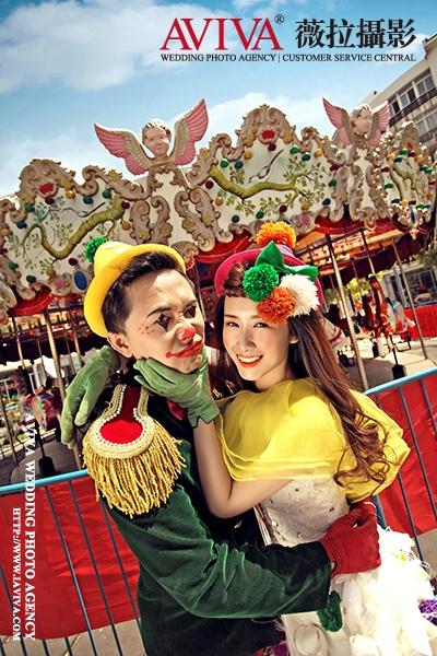 媛子&猴子 的婚纱摄影作品_武汉婚纱摄影高端定制
